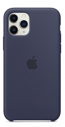 Pouzdro Apple (MWYJ2ZM/A) Silicone Case pro Apple iPhone 11 Pro Midnight Blue