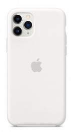 Pouzdro Apple (MWYL2ZM/A) Silicone Case pro Apple iPhone 11 Pro White