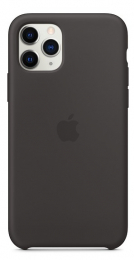 Pouzdro Apple (MWYN2ZM/A) Silicone Case pro Apple iPhone 11 Pro Black