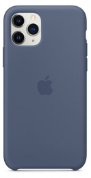 Pouzdro Apple (MWYR2ZM/A) Silicone Case pro Apple iPhone 11 Pro Alaskan Blue