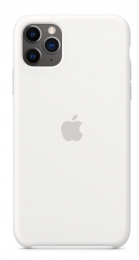 Pouzdro Apple (MWYX2ZM/A) Silicone Case pro Apple iPhone 11 Pro Max White