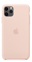 Pouzdro Apple (MWYY2ZM/A) Silicone Case pro Apple iPhone 11 Pro Max Pink Sand