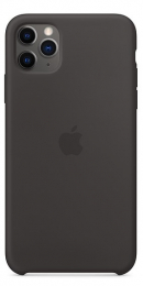 Pouzdro Apple (MX002ZM/A) Silicone Case pro Apple iPhone 11 Pro Max Black