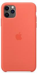 Pouzdro Apple (MX022ZM/A) Silicone Case pro Apple iPhone 11 Pro Max Clementine