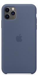 Pouzdro Apple (MX032ZM/A) Silicone Case pro Apple iPhone 11 Pro Max Alaskan Blue