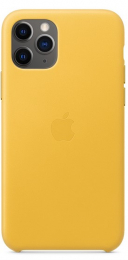 Pouzdro Apple (MWYA2ZM/A) Leather Case pro Apple iPhone 11 Pro Meyer Lemon