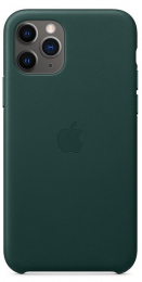 Pouzdro Apple (MWYC2ZM/A) Leather Case pro Apple iPhone 11 Pro Forest Green