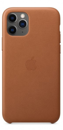 Pouzdro Apple (MWYD2ZM/A) Leather Case pro Apple iPhone 11 Pro Saddle Brown