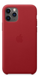 Pouzdro Apple (MWYF2ZM/A) Leather Case pro Apple iPhone 11 Pro Product RED