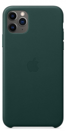 Pouzdro Apple (MX0C2ZM/A) Leather Case pro Apple iPhone 11 Pro Max Forest Green