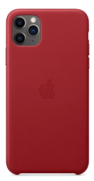 Pouzdro Apple (MX0F2ZM/A) Leather Case pro Apple iPhone 11 Pro Max Product RED