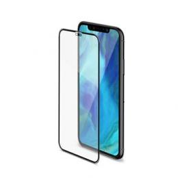 Celly Tvrzené sklo 3D pro Apple iPhone XS Max černé
