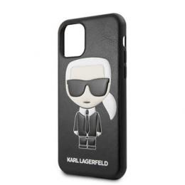 Pouzdro Karl Lagerfeld (KLHCN61IKPUBK) Embossed pro Apple iPhone 11 černé