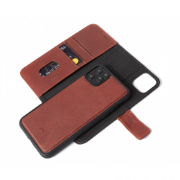 Pouzdro Decoded (D9IPOXIMDW2CBN) Leather 2v1 Wallet pro Apple iPhone 11 Pro Max hnědé