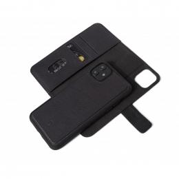 Pouzdro Decoded (D9IPOXIRDW2BK) Leather 2v1 Wallet pro Apple iPhone 11 černé