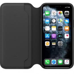 Pouzdro Apple (MX062ZM/A) Leather Folio pro Apple iPhone 11 Pro černé