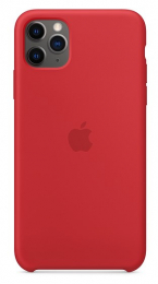 Pouzdro Apple (MWYV2ZM/A) Silicone Case pro Apple iPhone 11 Pro Max Product RED