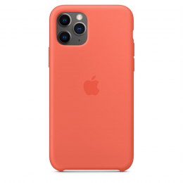 Pouzdro Apple (MWYQ2ZM/A) Silicone Case pro Apple iPhone 11 Pro Clementine