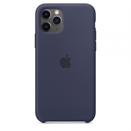 Pouzdro Apple (MWYW2ZM/A) Silicone Case pro Apple iPhone 11 Pro Max Midnight Blue