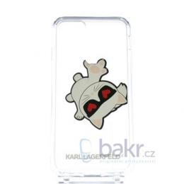 Pouzdro Karl Lagerfeld (KLHCI8CFHE) Fun Eaten Hard Case pro Apple iPhone 7/8