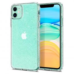 Pouzdro Spigen (076CS27181) Liquid Crystal pro Apple iPhone 11 Glitter Clear