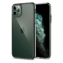 Pouzdro Spigen (077CS27114) Ultra Hybrid pro Apple iPhone 11 Pro Crystal Clear