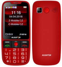 Aligator A890 Dual SIM Red