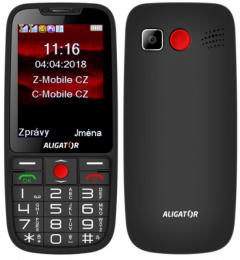 Aligator A890 Dual SIM Black