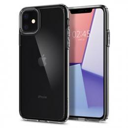 Pouzdro Spigen (076CS27086) Crystal Hybrid pro Apple iPhone 11 Clear