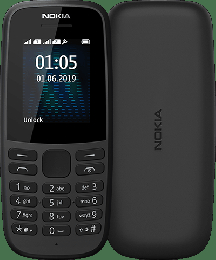Nokia 105 2019 Dual SIM Black
