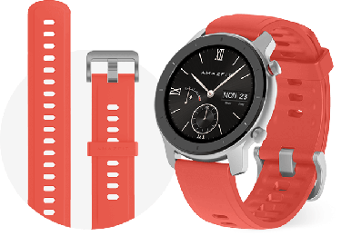 Huami Amazfit GTR 42 mm Red