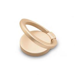 Prstýnek FIXED Loop pro mobilní telefony se stojánkem Gold
