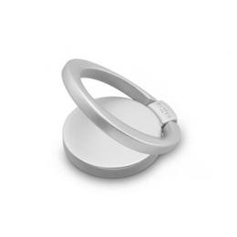 Prstýnek FIXED Loop pro mobilní telefony se stojánkem Silver