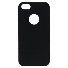 Pouzdro Swissten Liquid (s výřezem na logo) pro Apple iPhone 5/5S/SE černé