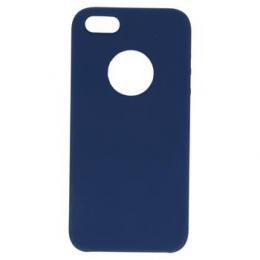 Pouzdro Swissten Liquid (s výřezem na logo) pro Apple iPhone 5/5S/SE tmavě modré