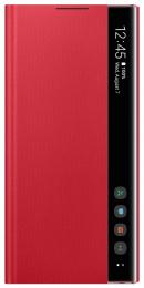 Pouzdro Samsung EF-ZN970CRE Clear View pro Samsung Galaxy Note 10 červené