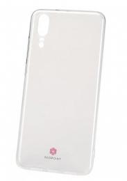 Pouzdro RedPoint Silicon Exclusive pro Huawei P20 čiré