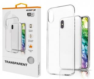 Pouzdro Aligator Transparent pro Huawei P Smart 2019