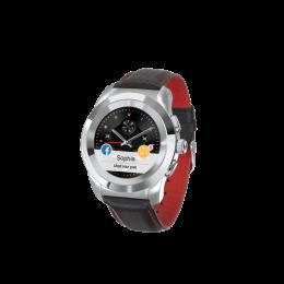 MyKronoz ZeTime Premium 44mm Silver Black Carbon Red