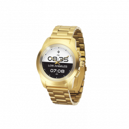 MyKronoz ZeTime Elite 44mm Yellow Gold Metal Link