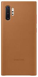 Pouzdro Samsung (EF-VN975LA) Leather Cover pro Samsung N975F Galaxy Note 10 Plus Brown