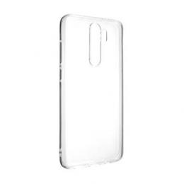 Pouzdro FIXED TPU pro Xiaomi Redmi Note 8 Pro čiré
