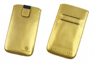 Pouzdro RedPoint Velvet Pocket Style 3XL zlaté