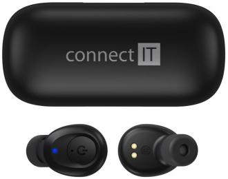 Bezdrátová sluchátka ConnectIT CEP-9100-BK Black