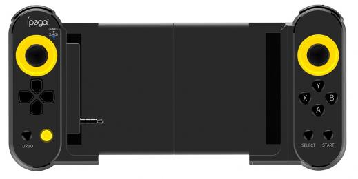 Bluetooth ovladače iPega 9167 Dual Thorne Frotnite pro iOS/Android a PC černo žlutý