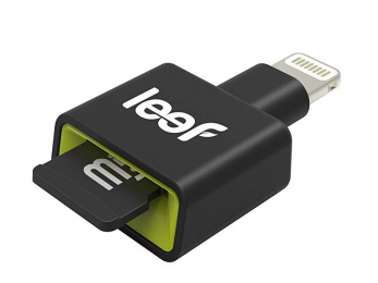 Leef (LIAC30KK000A1) iAccess 3 iOS MicroSD čtečka paměťových karet černá