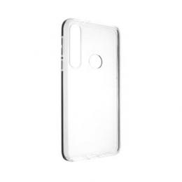 Pouzdro FIXED TPU pro Motorola One Macro čiré