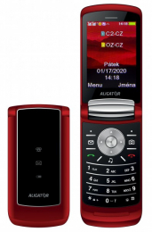 Aligator DV800 Dual SIM Red