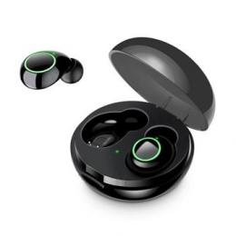 Bezdrátová sluchátka USAMS LI Dual Stereo TWS Black
