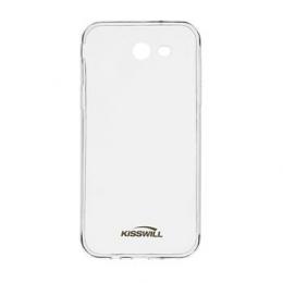 Pouzdro Kisswill TPU Samsung J330F Galaxy J3 2017 čiré